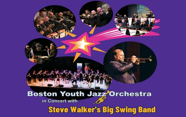 Boston Youth Jazz Orchestra with Steve Walker Big Swing Band
