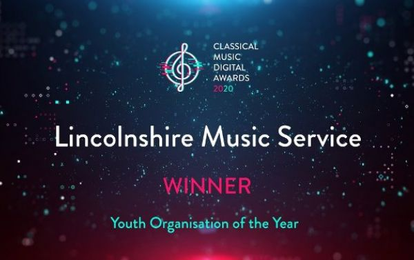 Lincolnshire Music Service wins digital music award for 2020