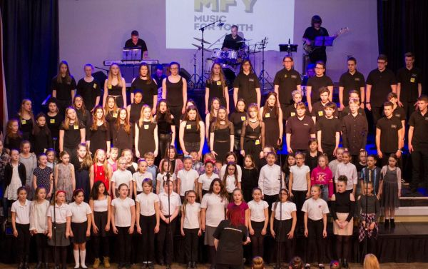 Boston Youth Pop Choirs with BYJO